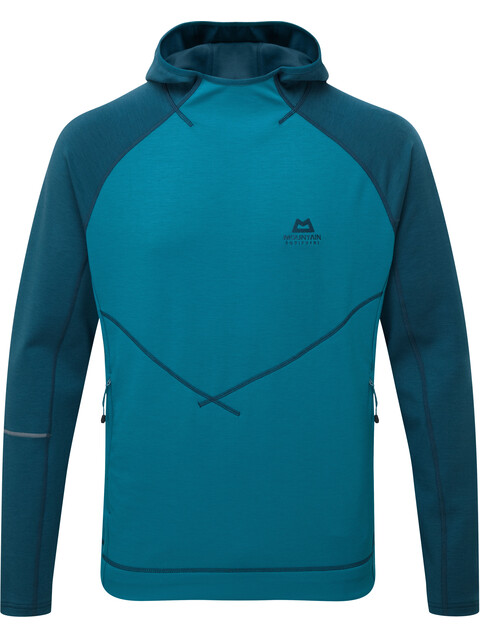 Mountain Equipment Clarion mid layer Uomo blu